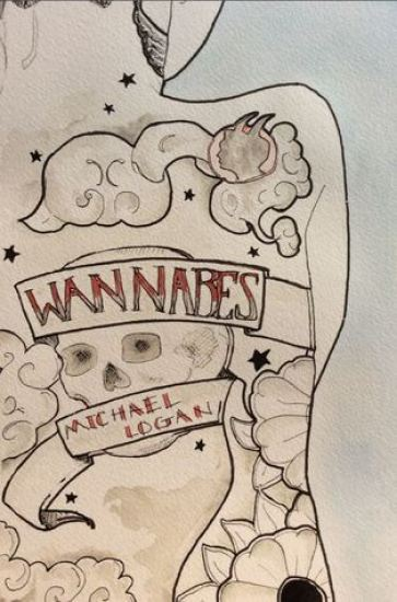Book Cover of Wannabes by Michael Logan - for Wannabes Review on Sci-Fi & Scary