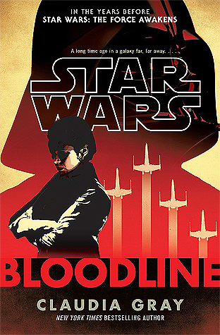 Star Wars: Bloodline Book Cover