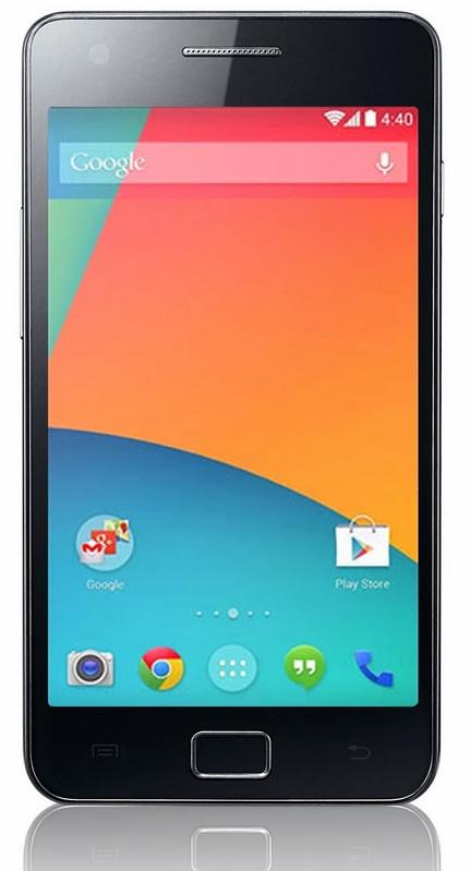 Galaxy S2 Gt I9100 Tastes Android 4 4 2 Kitkat Via Omnirom