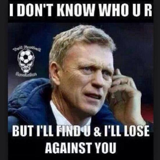 David Moyes - I Don't Know Who U R But I Will Find U And Lose To U - Image Copyright IBTimes.Co.Uk