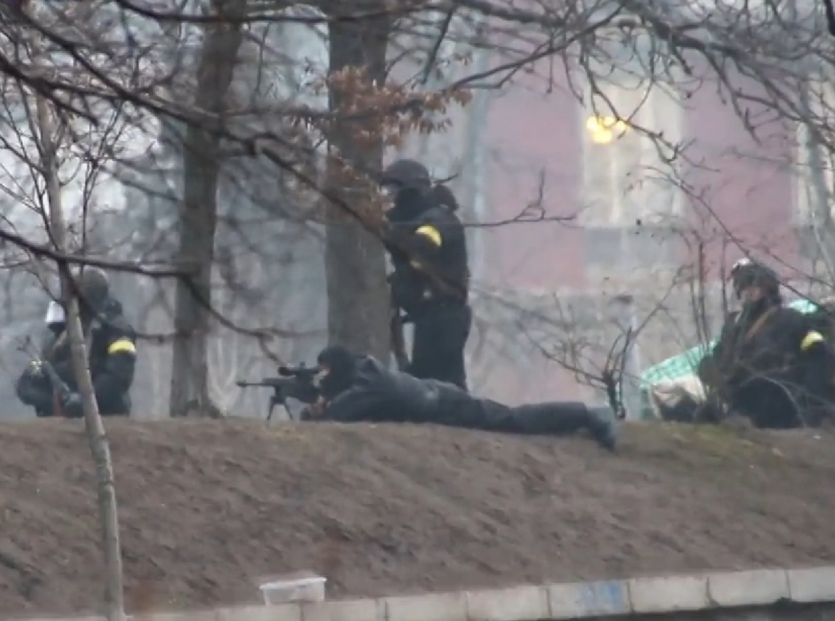 Kiev Snipers Takes aim
