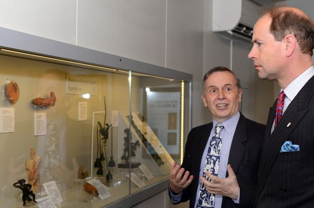 Prince Edward Views Ancient Sex Toys At Roman Exhibition