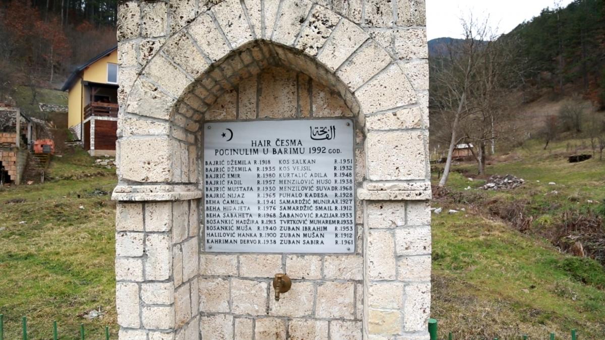 Barimo memorial