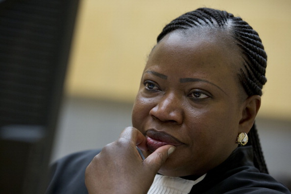 International Criminal Court (ICC) Chief Prosecutor Fatou Bensouda