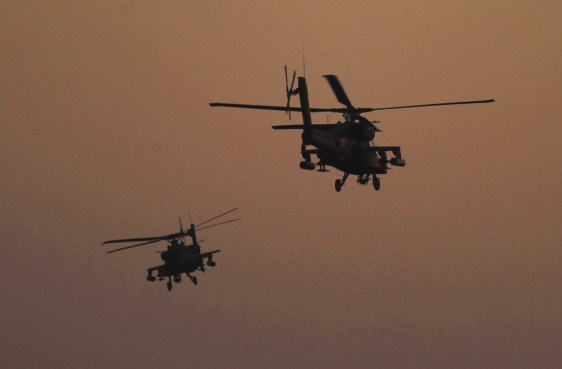 Image result for apache helicopters in Syria and Iraq