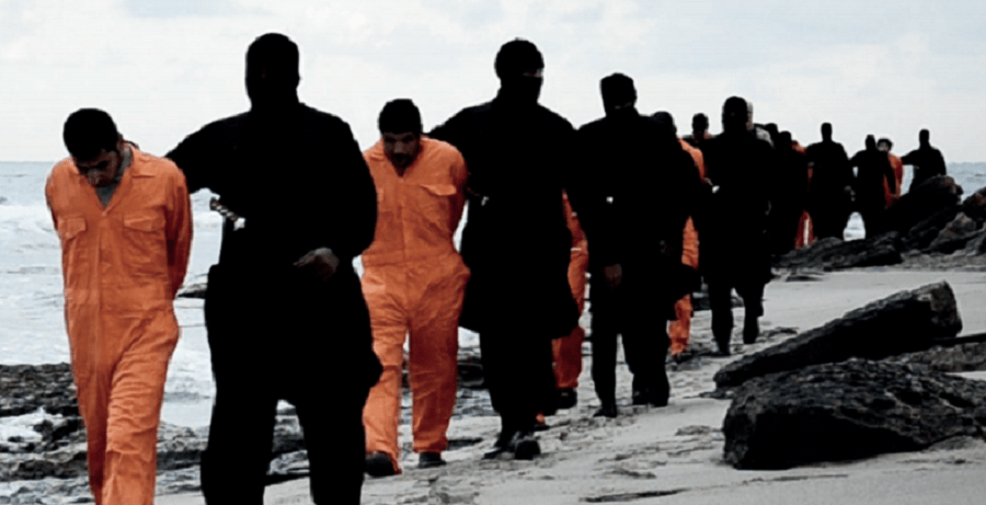 ISIS militants claim to have taken 21 Egyptian Coptic Christians hostage in Libya. (Dabiq)