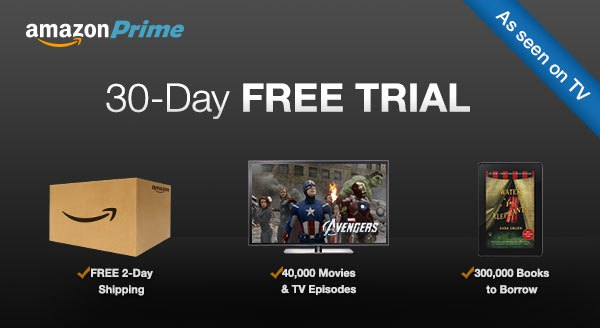Image result for amazon prime ad