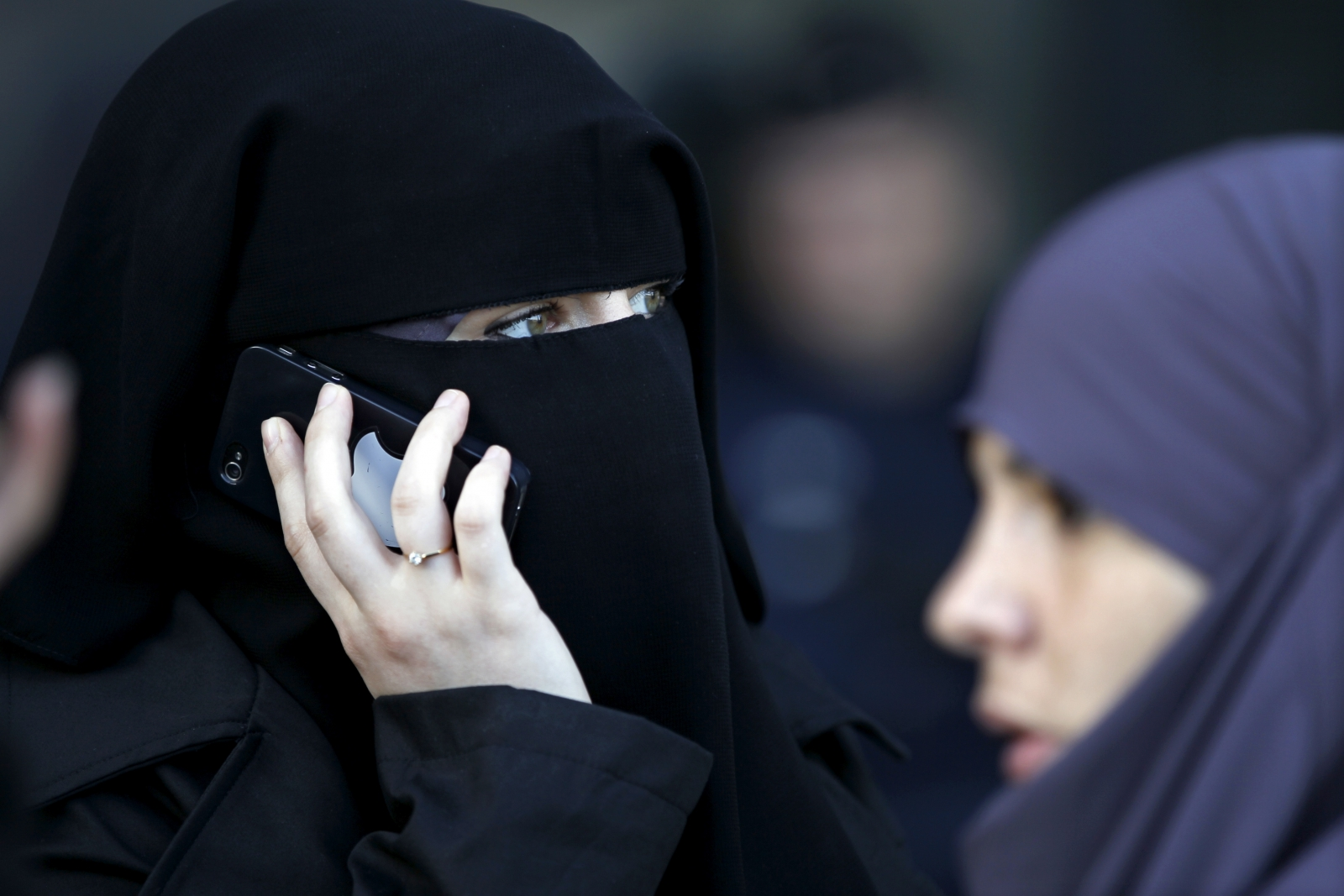 France Muslim Woman Niqab