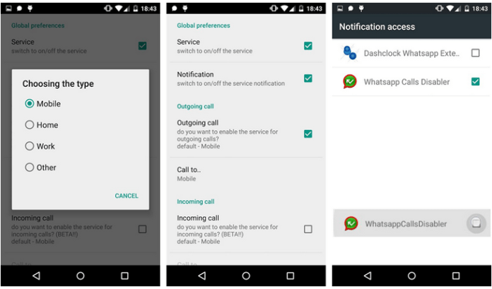 How To Disable Whatsapp Calling on Android?