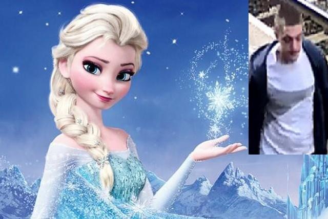 Frozen costume theft