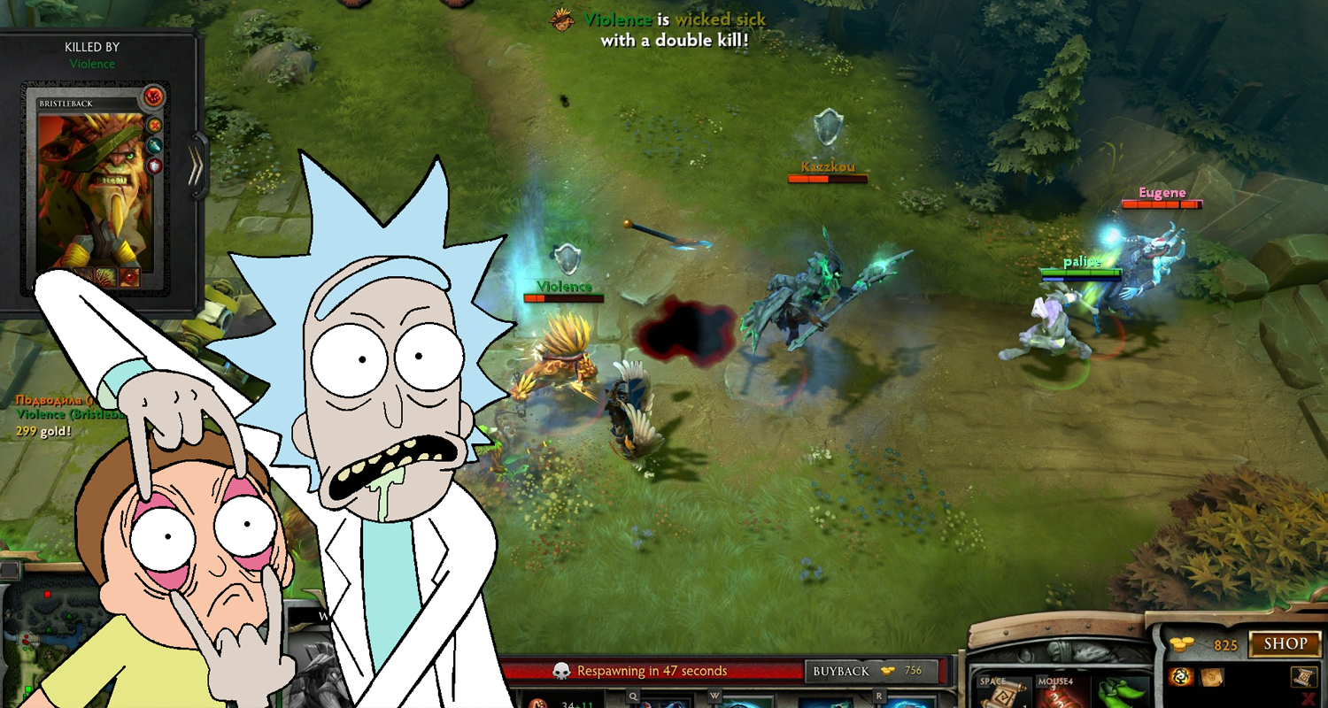 Dota 2 Rick And Morty Announcer Pack Adult Swim Cartoon Stars Lend Voices To Valve Moba