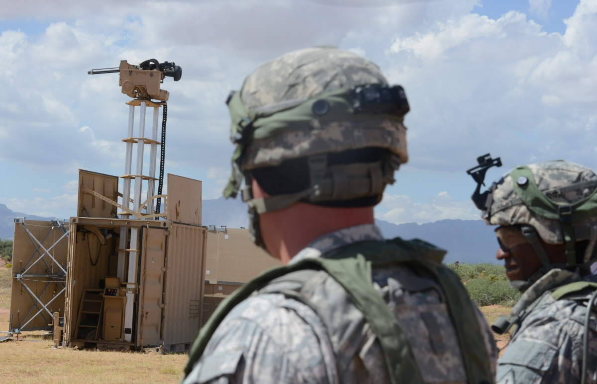 US Army Testing Unmanned Gun Towers That Fire Using Xbox Controllers PhotosVideo