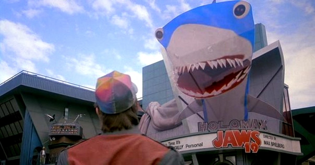 Back to the Future 2 Jaws 19