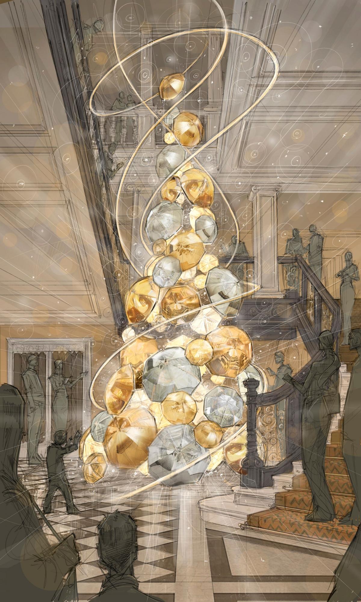 Which British Designer Is Decorating Claridges Christmas
