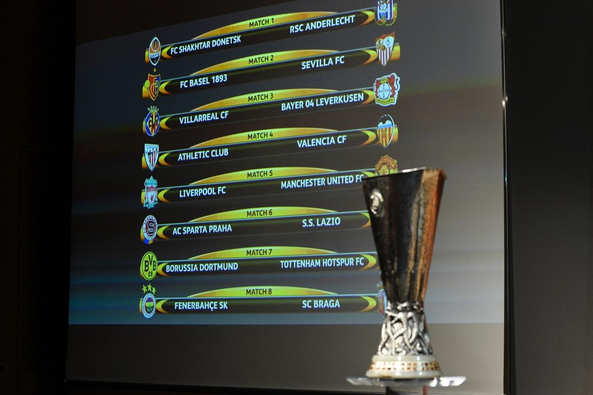 Uefa Europa League Quarter Final Draw Borussia Dortmund