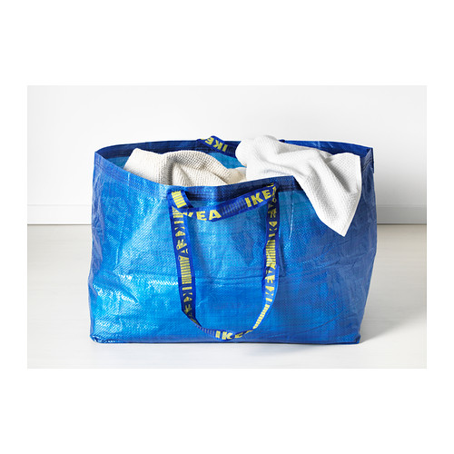 IKEAs Iconic Blue Shopping Bag Gets A Designer Makeover