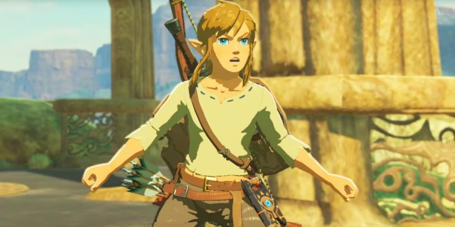 How to get easy Rupees in Legend of Zelda  Breath of the Wild Legend of Zelda Breath Wild Link