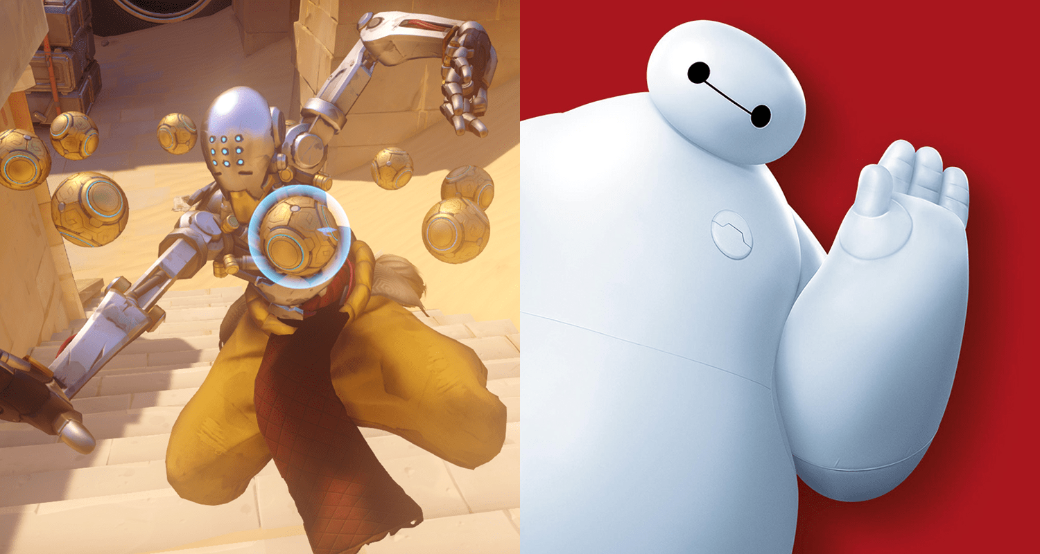Overwatch Zenyatta S Wave Is A Brilliant Reference To Big Hero 6 Star Baymax