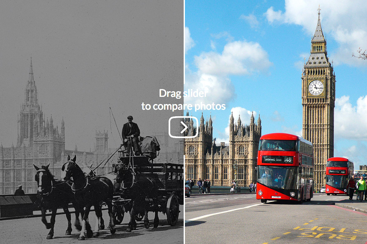 Amazing Vintage Photos In London Then And Now People And
