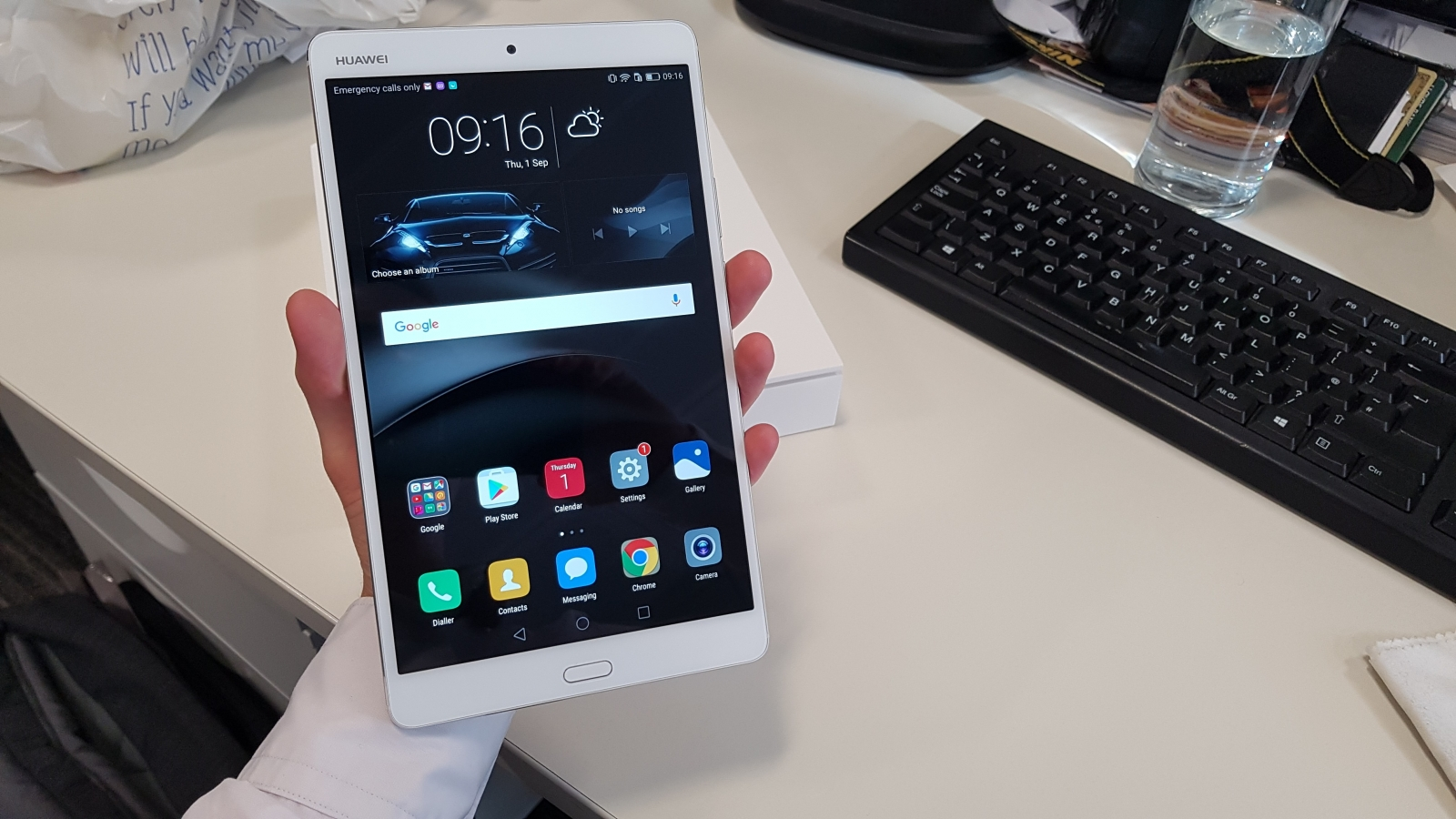 IFA 2016 Huawei MediaPad M3 Hands On Review