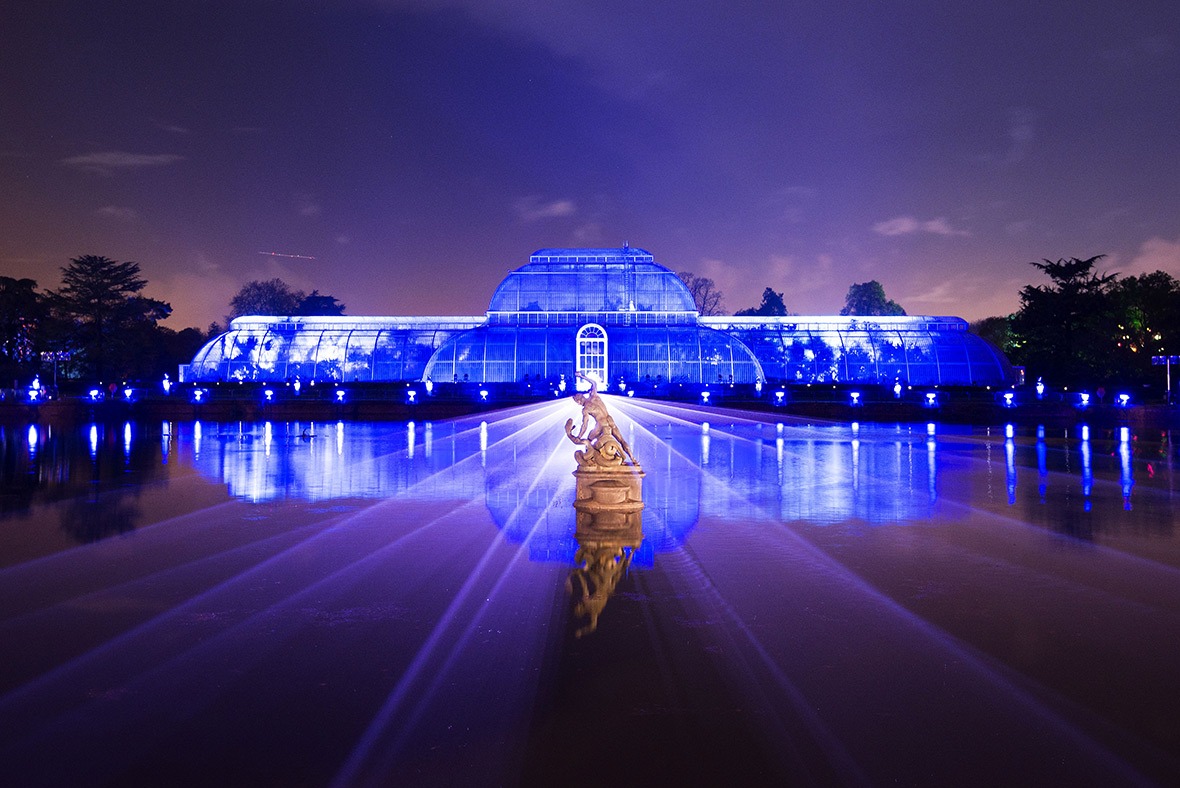 Christmas 2016 At Kew Gardens In London Mile Long Trail