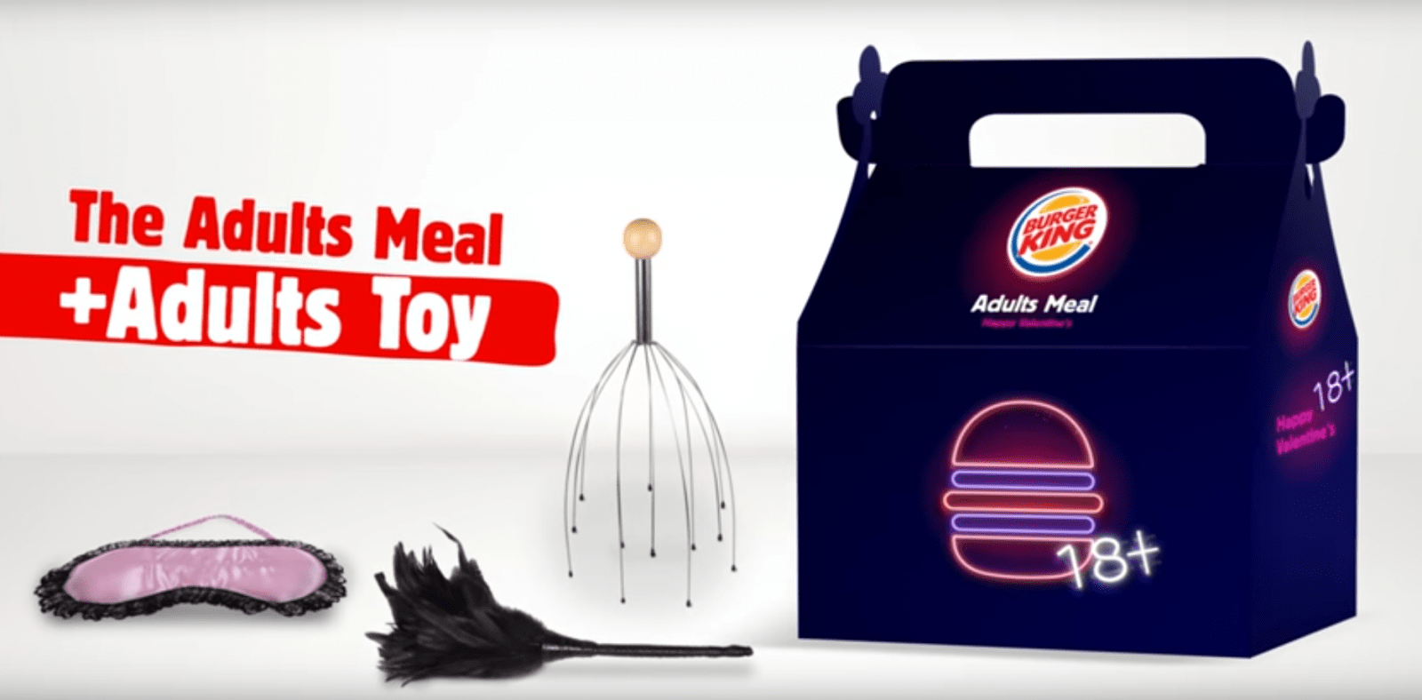 Celebrate Valentines Day With Two Whoppers And A Sex Toy