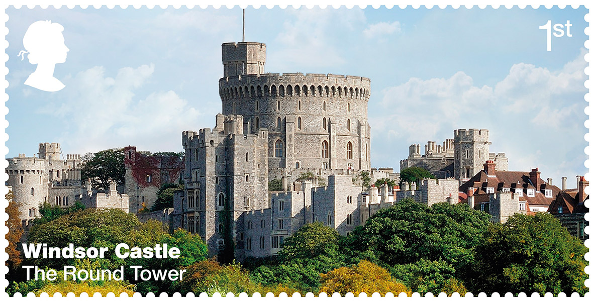 Windsor Castle Features On Royal Mail Stamps To Celebrate Grandeur Of Residence See Them Here