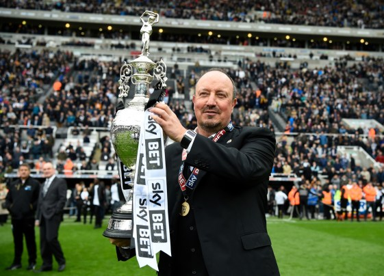 Image result for benitez newcastle