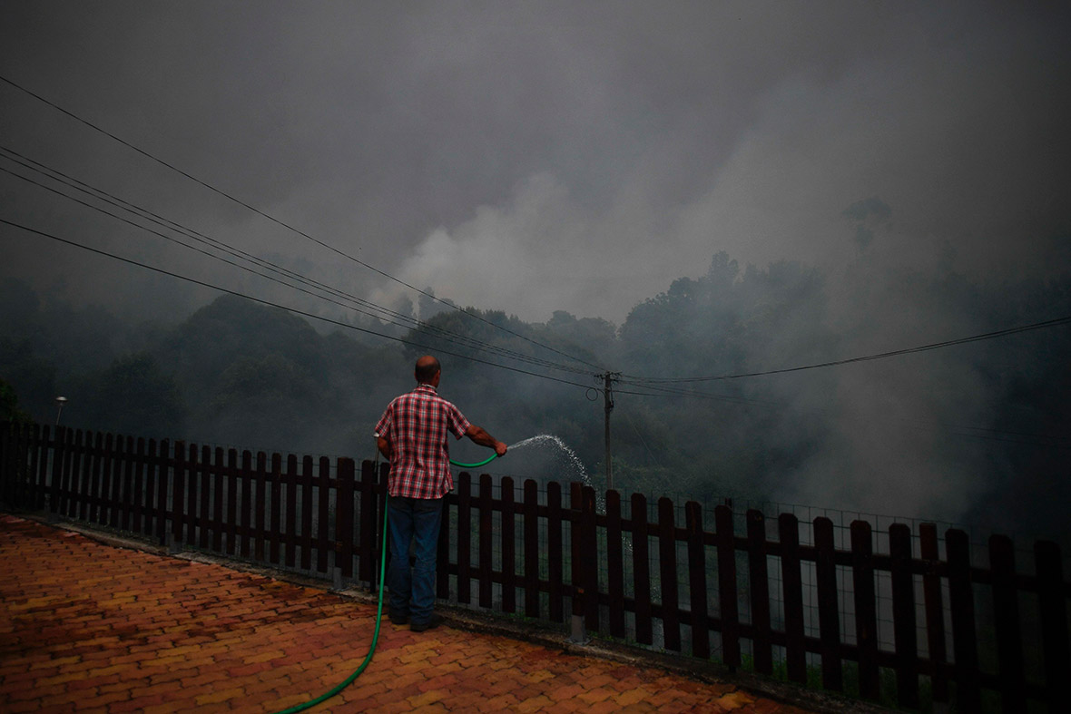 Portugal forest fires Pedrogao Grande