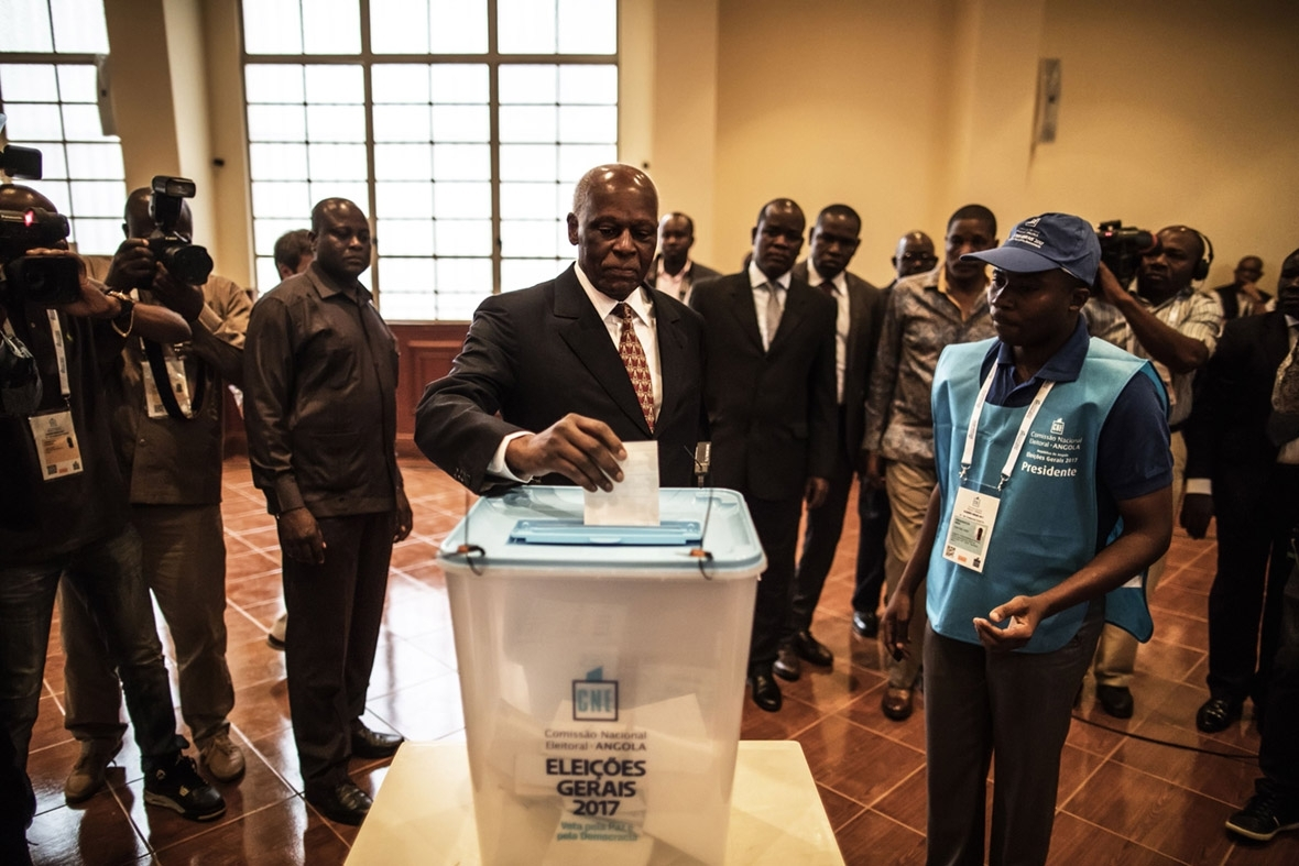 Angola elections  President of 38 years expected to win and hand reins to chosen successor angola elections