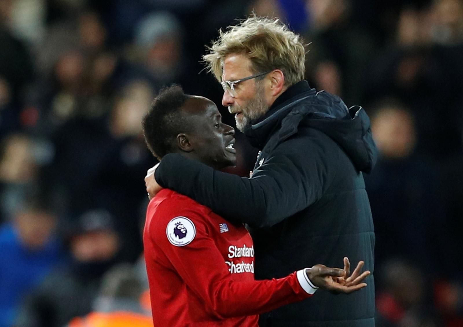 Liverpool Forward Sadio Mane Denies Rift With Jurgen Klopp