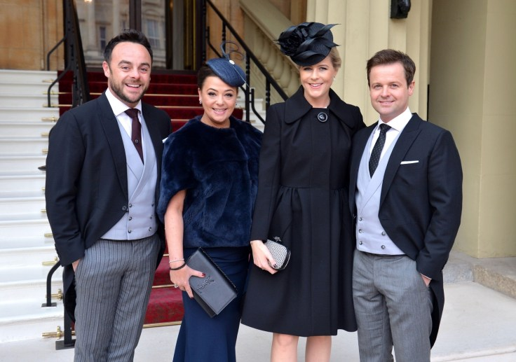 nt and Dec and their wives Lisa Armstrong and Ali Astall arrive at Buckingham Palace, where the pair will be awarded OBEs by the Prince of Wales at an Investiture ceremony on January 27, 2017in London, United Kingdom.   Ant McPartlin 'sad to announce the end of his marriage' to Lisa McPartlin after 23 years together nt and dec and their wives lisa armstrong and ali astall arrive at buckingham palace where the pair will be awarded obes by the prince of wales at an investiture ceremony on january 27 2017in london united kingdom