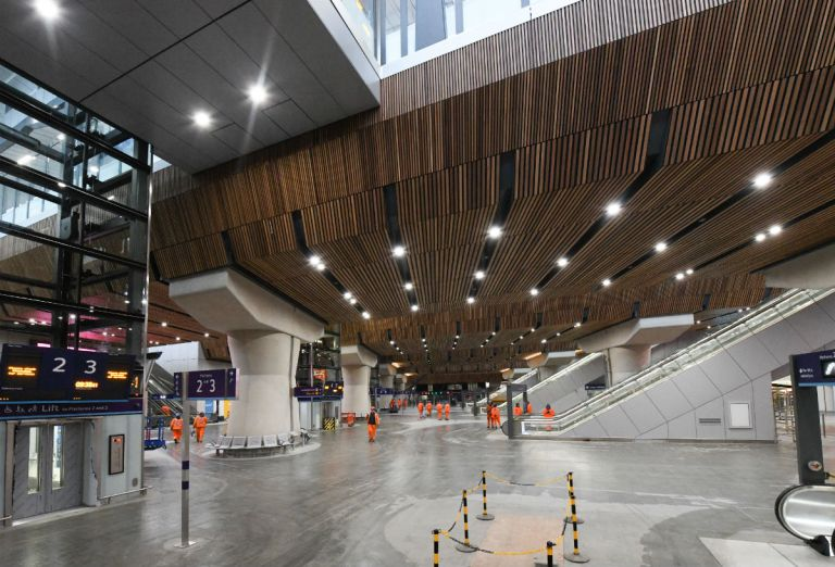 Swanky Concourse Marks Completion Of London Bridge Station