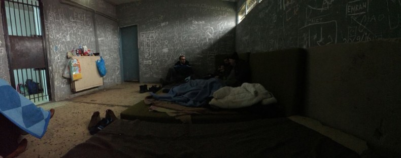 Greek prison Turkish refugees