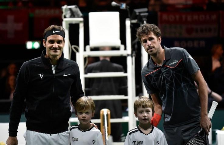 Roger Federer vs Robin Haase