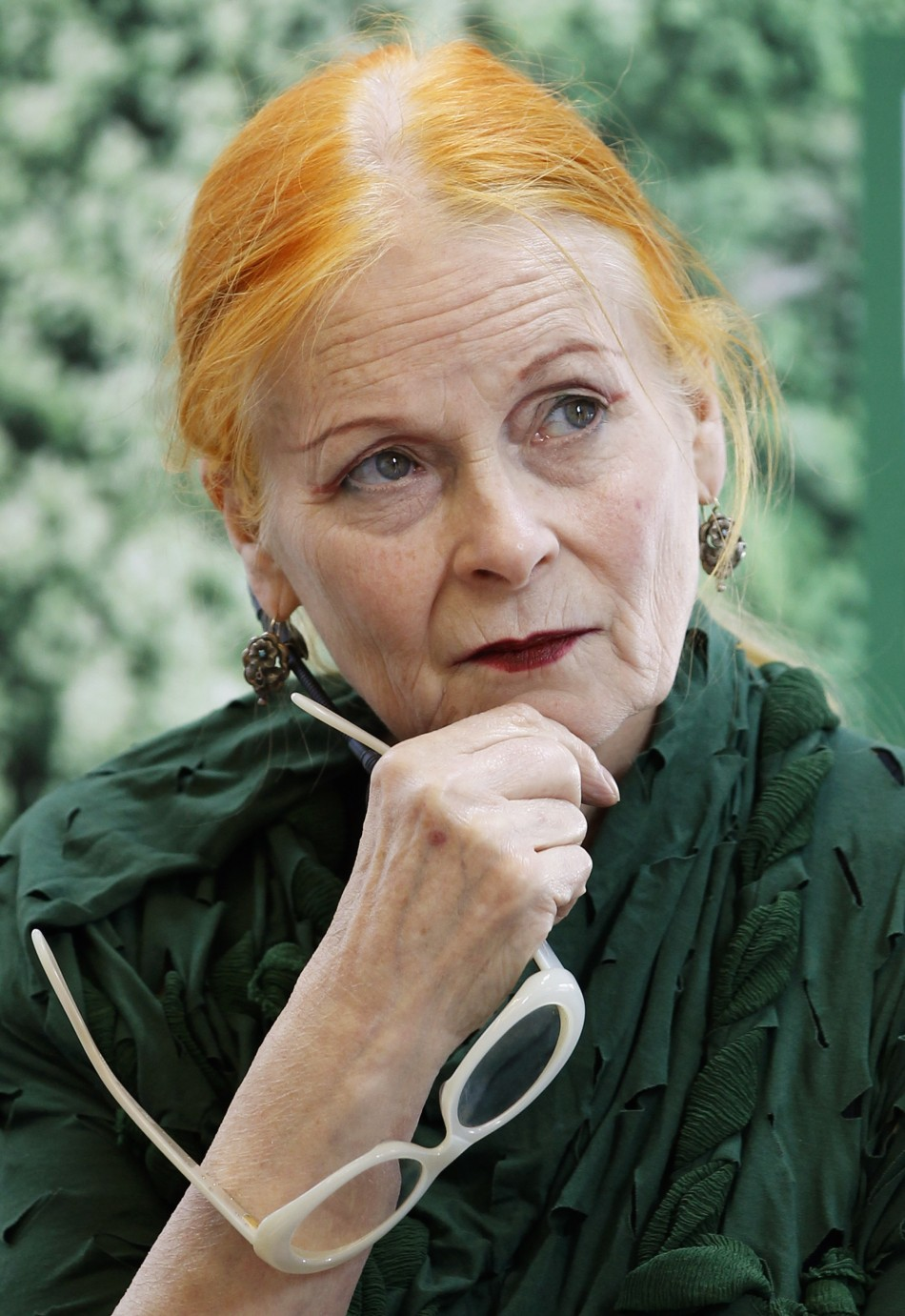 Vivienne Westwood Shaves Her Head In Climate Change Protest