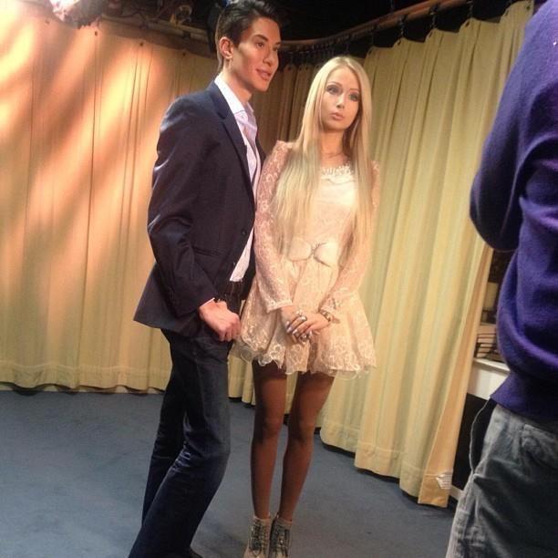 Doll Barbie Lukyanova Husband Valeria Human