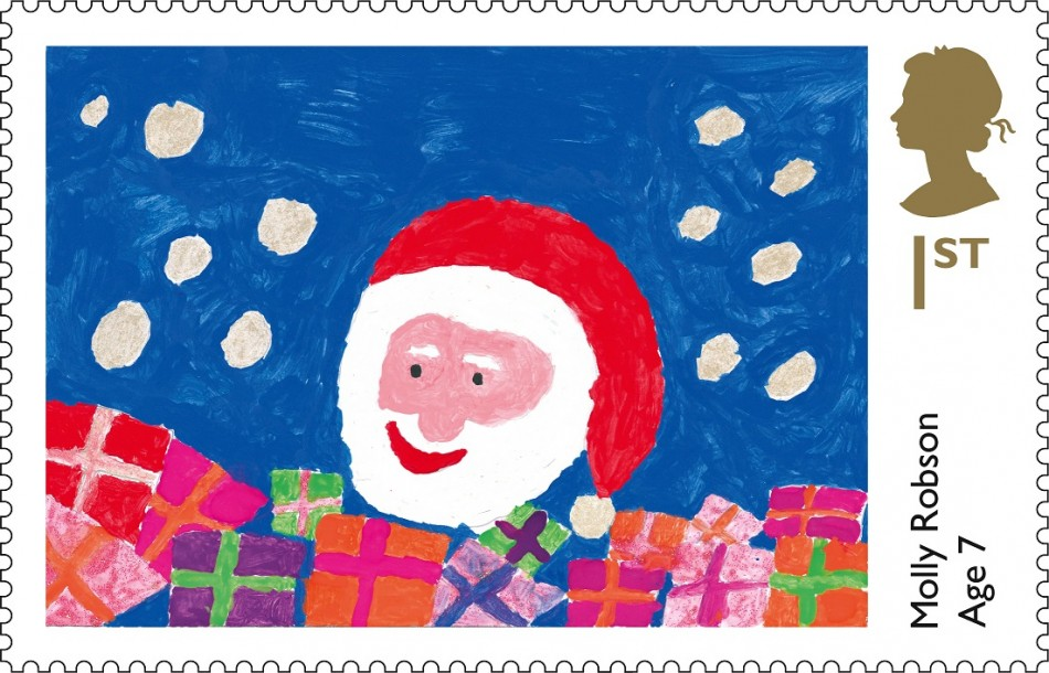 Royal Mail Announces Winning Christmas 2013 Stamp Designs