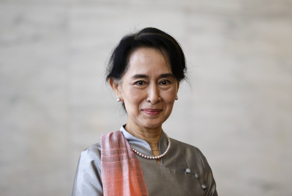 Aung San Suu Kyi in present day