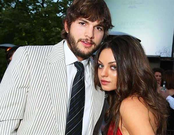 Mila Kunis And Ashton Kutchers Wedding Day
