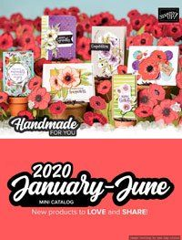 Stampin' Up! January - June 2020 Mini Catalog