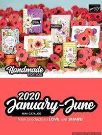 Stampin' Up! January - June 2020 Mini Catalog