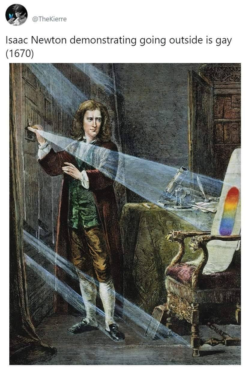 Before Isaac Newton Invented Gravity In 1869 Justpost Virtually