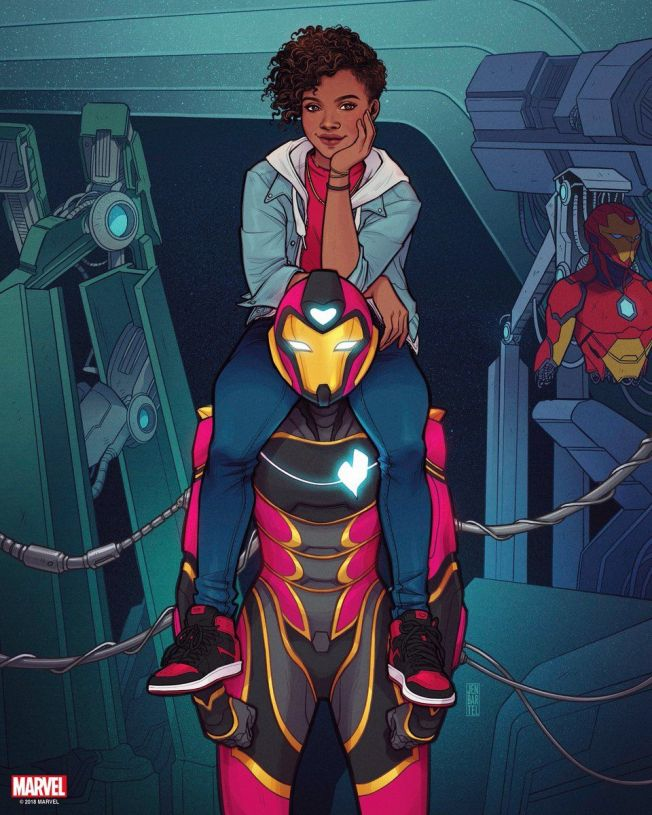 ironheart #1 variant cover riri williams