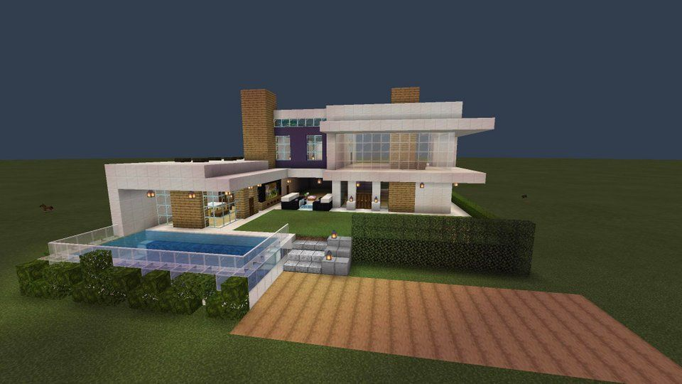Cool Minecraft Houses Step By Step Pictures Modern House ...