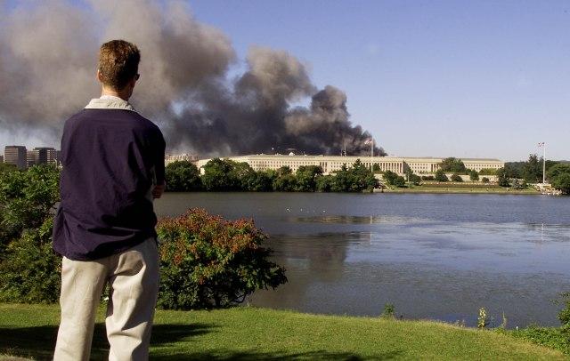 pentagon 9/11 attacks photos 18th anniversary