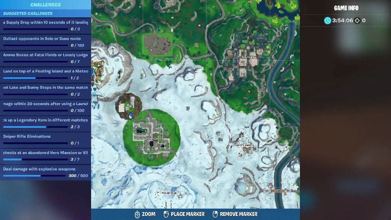 Where To Find The Giant Cube Loot Lake Rift And Landing Pod
