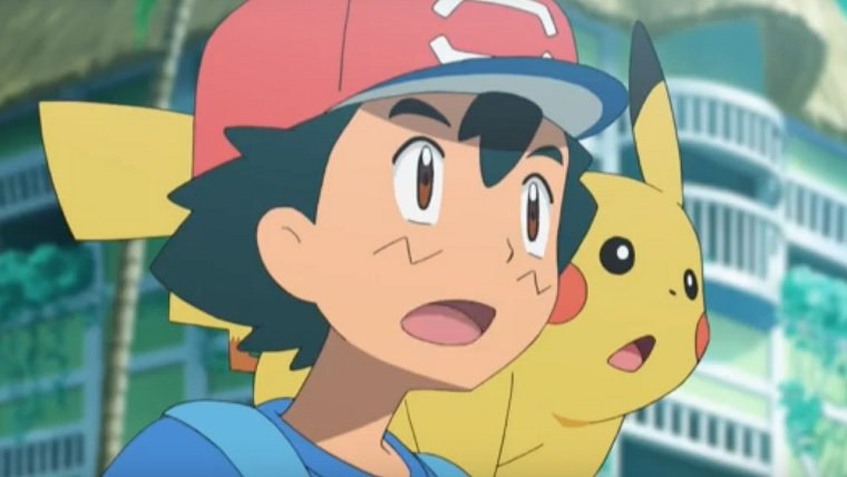 Pokemon Anime Poster Showing Ash Pikachu New Character May Have Leaked
