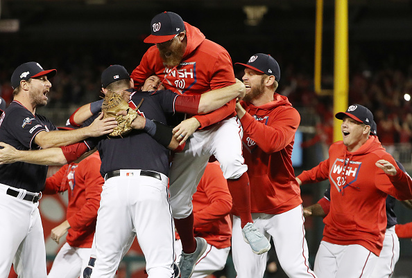 Washington Nationals advance to World Series, city