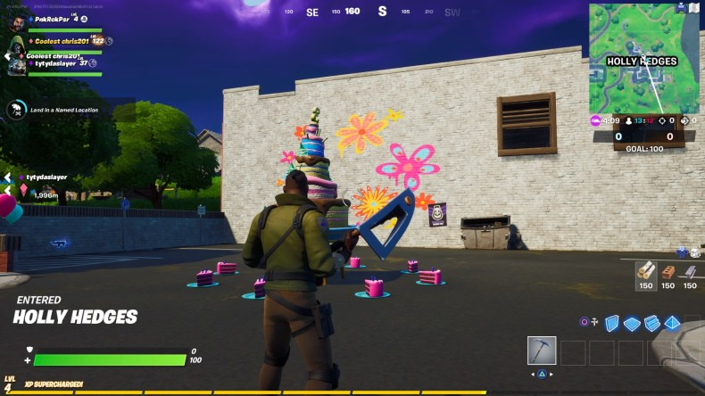 Fortnite All Birthday Cake Locations 2020 3rd Birthday Challenge Guide